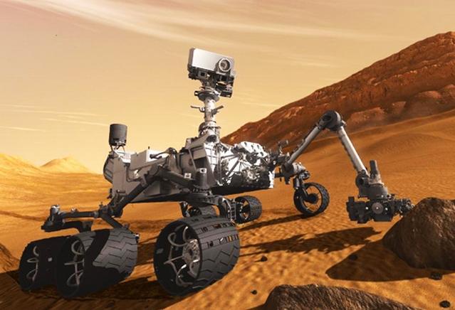 Il rover-laboratorio Curiosity
