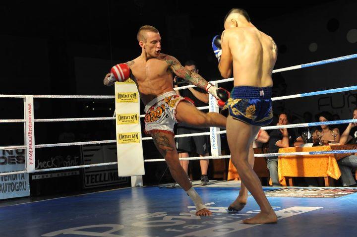 Alessandro Ramazzotti sul ring
