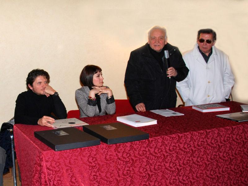 Lorenzo Cicconi Massi, Katiuscia Biondi, Carlo Emanuele Bugatti e Giorgio Pegoli