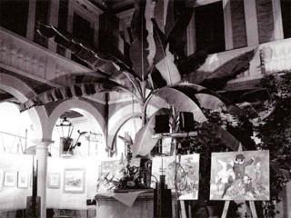 Appuntamento con l'arte a cura dell'Associazione I Rovereschi nel Cortile del Palazzetto Baviera