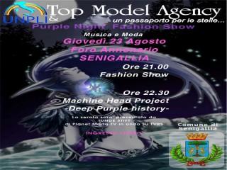 Il Manifesto dell'evento da Top Model Agency