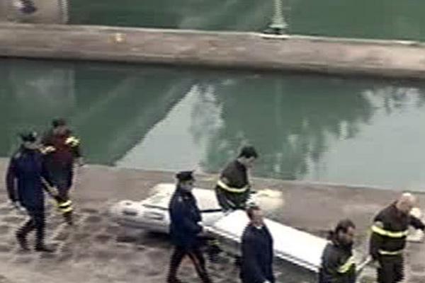 Il cadavere rinvenuto nel Po a febbraio