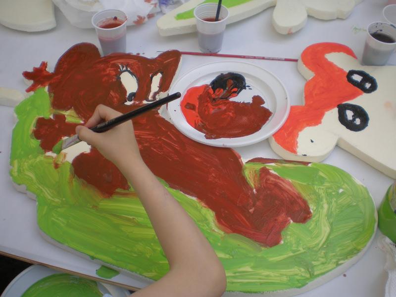 Laboratorio d'arte, disegno, pittura