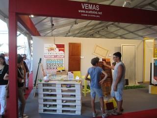 Stand di Vemas alla Fiera Campionaria 2012 di Senigallia