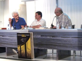 Prima serata di Ventimilarighe sotto i mari in Giallo a Senigallia con lo scrittore emiliano Loriano Macchiavelli