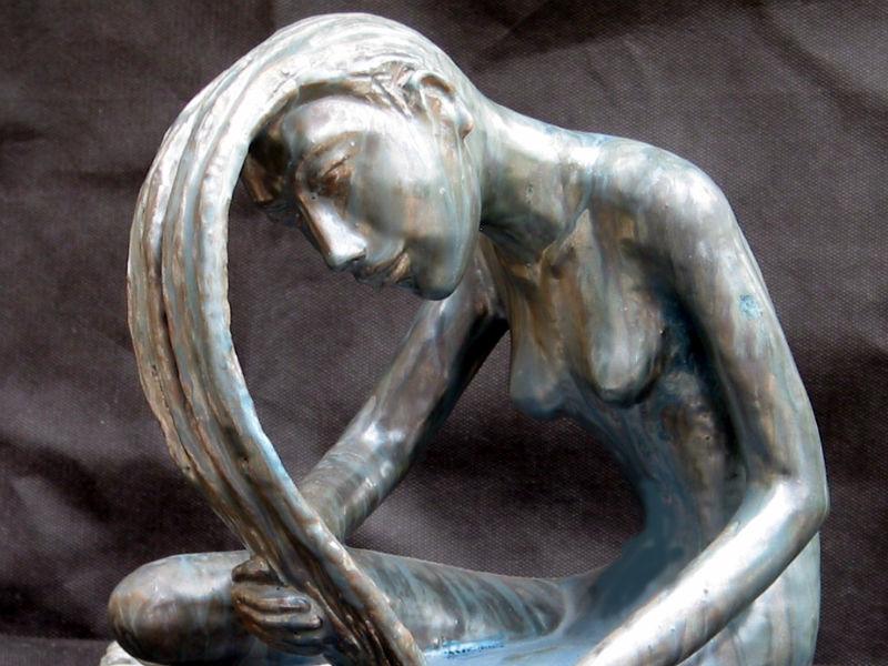 Una scultura di Guido Rossini