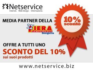 Sconti durante la fiera campionaria 2012 sui prodotti di Netservice di Senigallia