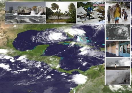 La tempesta tropicale Isaac