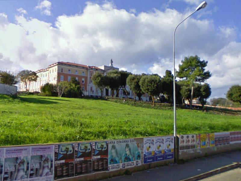 La sede del Seminario vescovile, della scuola Mercantini e dell'Asur Area Vasta n2
