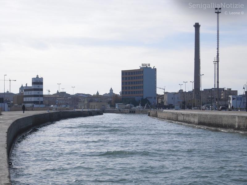 Il canale del porto di Senigallia