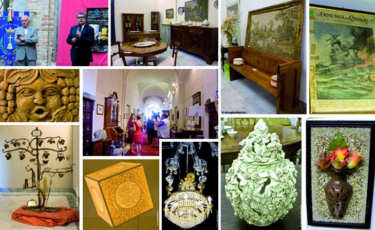 Alcune immagini della 35ª Mostra Nazionale Antiquariato e Artigianato Artistico