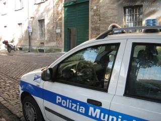 La sede della Polizia Municipale a Senigallia, in piazza Garibaldi 1