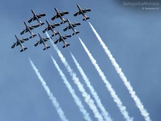 Senigallia Air Show: le Frecce Tricolori