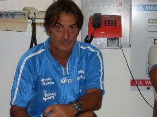 Aldo Clementi, allenatore della Vigor Senigallia
