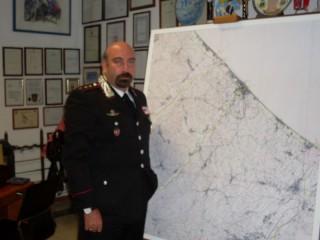 Il Comandante dei Carabinieri Lorenzo Marinaccio