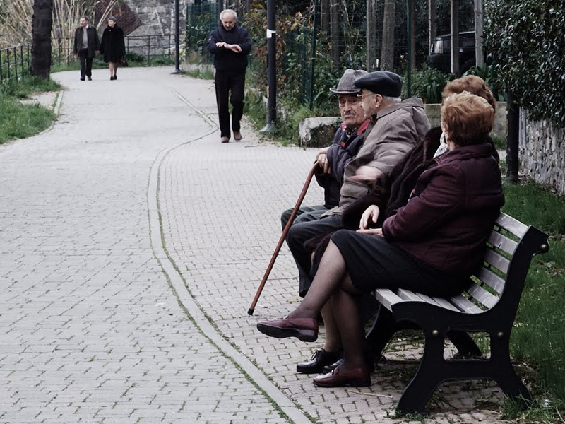 Anziani, pensionati, terza età