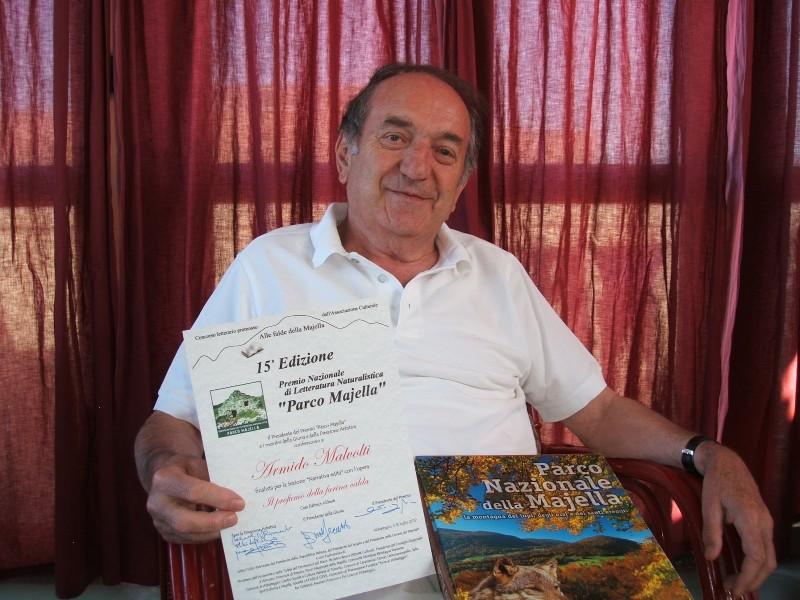 Lo scrittore Armido Malvolti