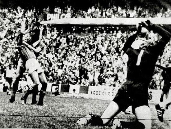 Italia - Germania 4-3, semifinale mondiale a Messico '70