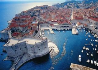 Un'immagine delle coste della Dalmazia
