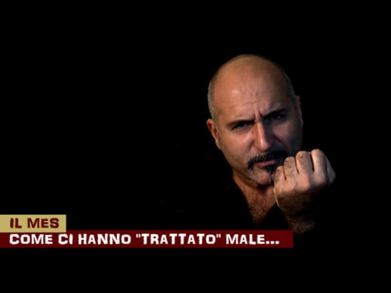 Immagine di Claudio Messora sul MES tratta da Byoblu.com