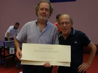 L'assessore Schiavoni con Enzo Pettinelli