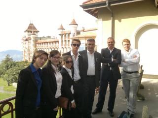 Gli alunni del Panzini in Svizzera