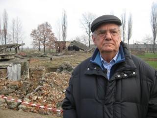 Shlomo Venezia ad Auschwitz-Birkenau