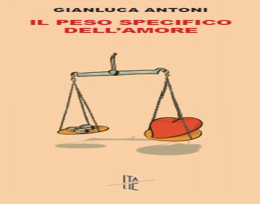 La copertina del libro di Gianluca Antoni