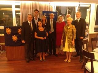 L'incontro con i rappresentanti del Rotary Club Senigallia