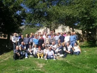 """Foto di gruppi per i partecipanti alla """"Festa dei marmisti"""""""