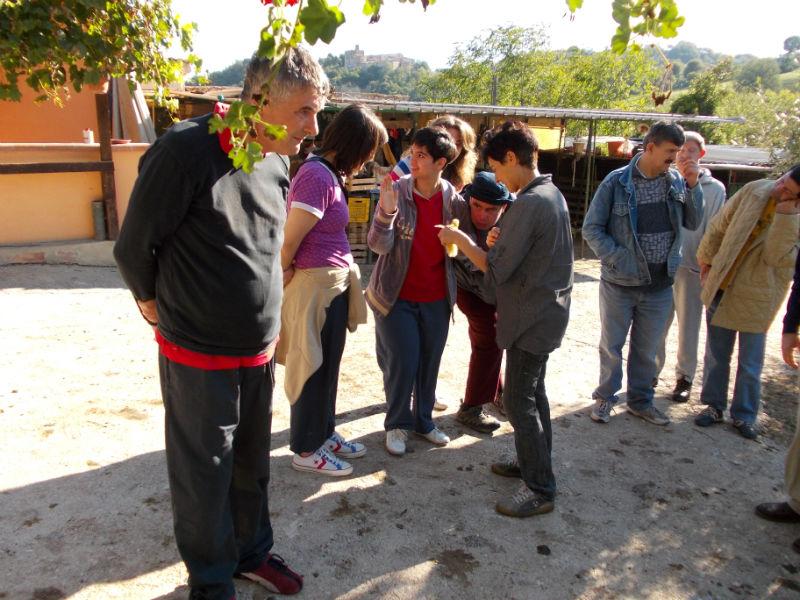 La trasferta della Casa della Gioventù ad Arcevia nello scorso ottobre