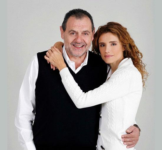 Gianfranco Vissani e Michela Rocco di Torrepadula