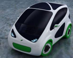 Un'automobile elettrica