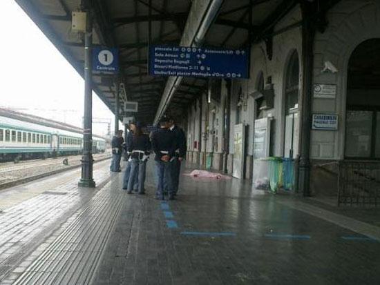 La scena del delitto a Bologna