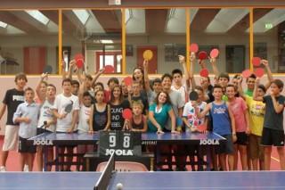 I ragazzi del Tennistavolo Senigallia