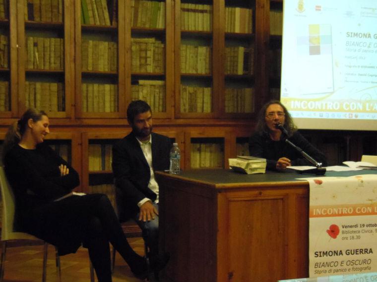 Da sinistra, Simona Guerra e Giovanni Marrozzini