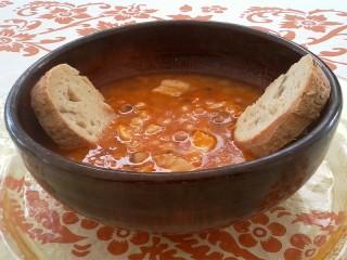 La ricetta della zuppa di cicerchia del ristorante vecchio for Pomodoro senigallia