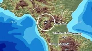Terremoto sul Pollino, scossa magnitudo 5