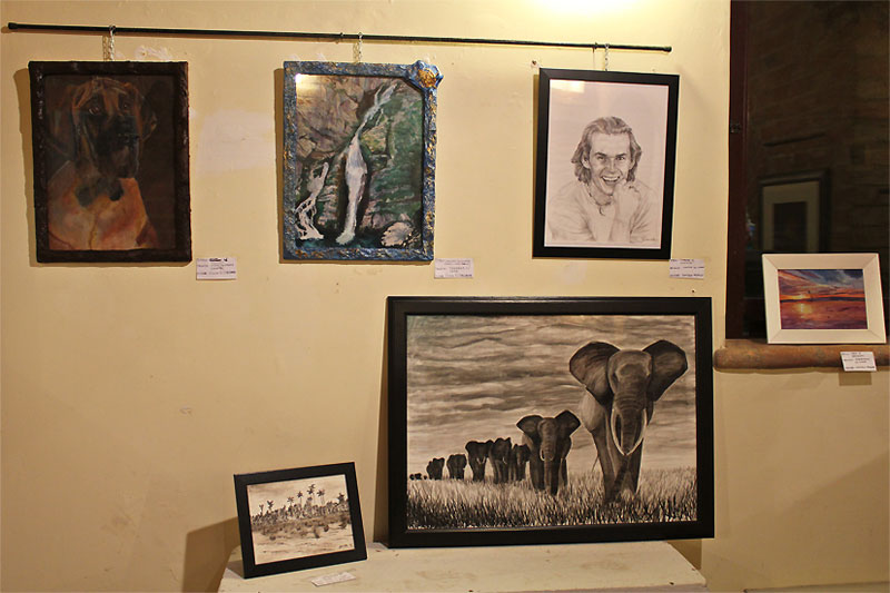 Mostra allievi NV.art all'Expo-ex di Senigallia