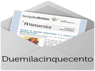 Newsletter numero 2500 di Senigallia Notizie