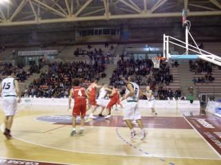 Fase del derby Stamura Ancona-Goldengas Senigallia