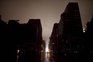 Manhattan al buio