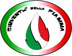 Lo stemma dei giovani della Fiamma Tricolore