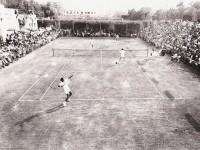 Il centrale del Ponterosso stralcolmo in un match del periodo d'oro