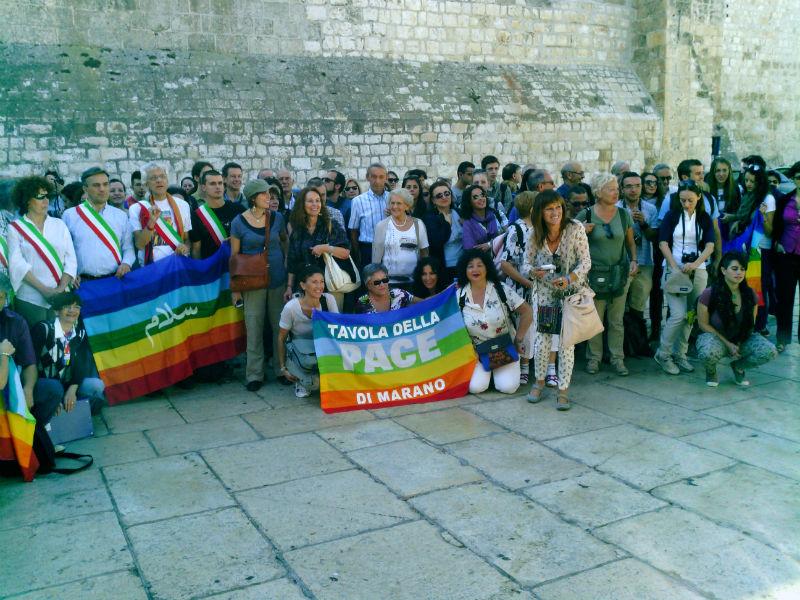 Scuola di Pace di Senigallia e Università per la Pace delle Marche alla Missione di pace in Israele e Palestina