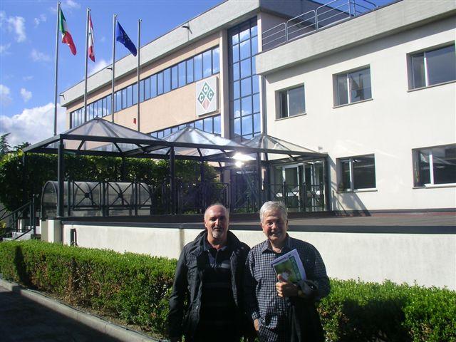 Giovanni Piersanti e Marco Giardini a Cesena