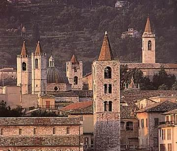 Un dipinto su Ascoli Piceno