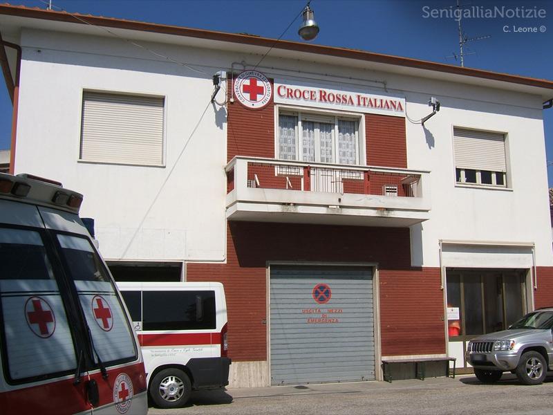 La sede di Senigallia della Croce Rossa Italiana (CRI)