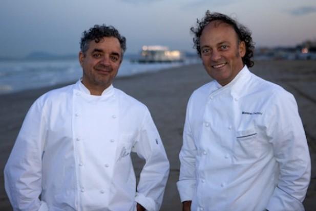 I due chef senigalliesi Mauro Uliassi e Moreno Cedroni