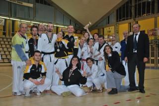 La squadra di taekwondo senigalliese si prende il titolo di campione regionale